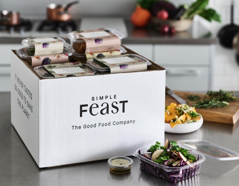 Grön matbox Simple feast